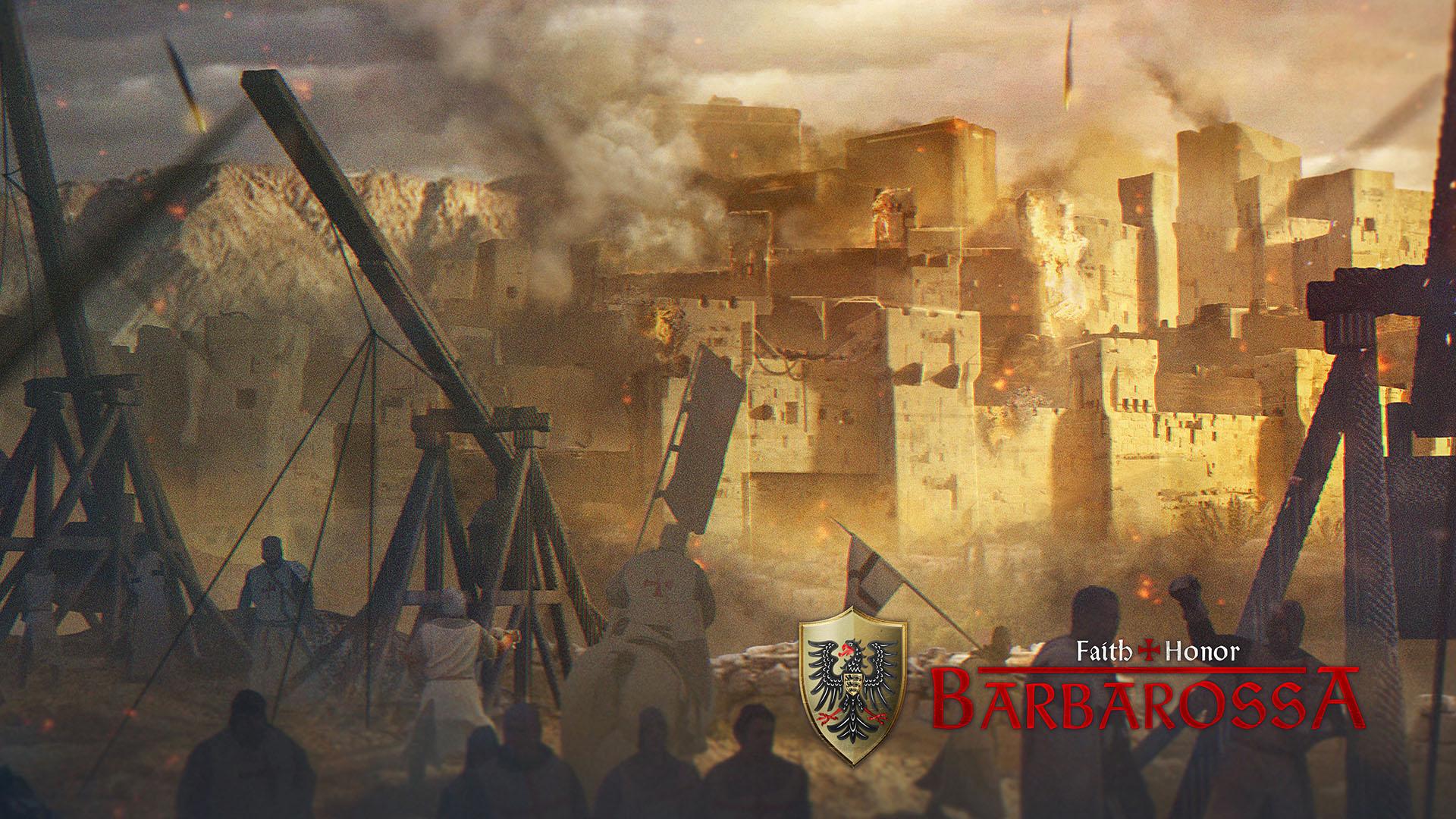 Artwork of Faith & Honour Barbarossa